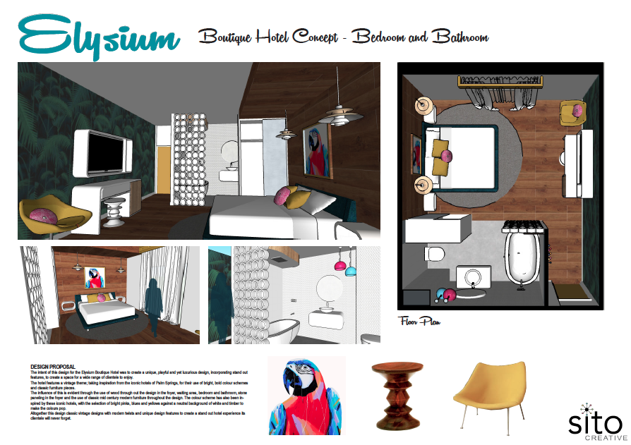 Design concepts the daily creative for Concept hotel boutique